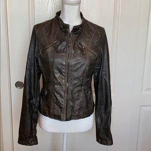 Modmodele Grey Zip Up Jacket